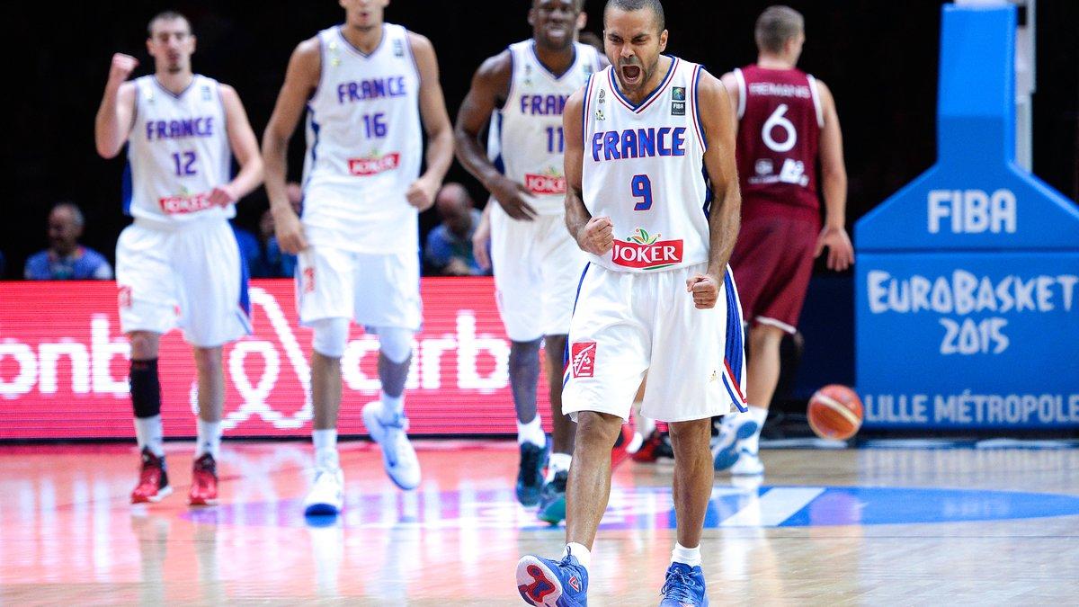 EuroBasket : Les Bleus passent l'obstacle letton et rejoignent l'Espagne