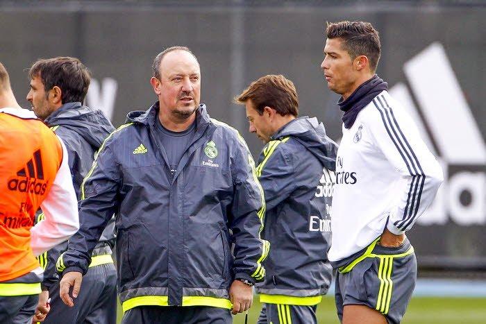 Un nouveau désaccord entre Cristiano Ronaldo et Benitez
