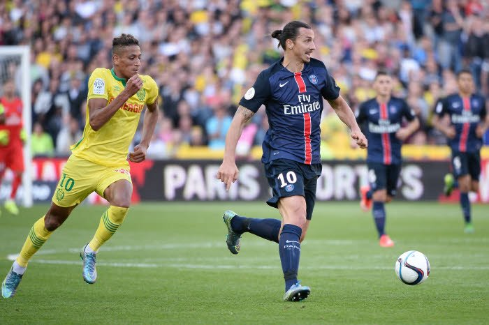 Le message de Zlatan Ibrahimovic à un joueur du FC Nantes