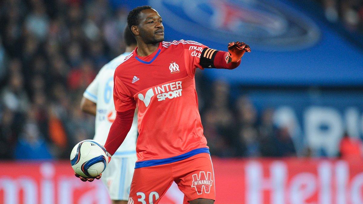 Maillot Domicile Olympique de Marseille Steve MANDANDA