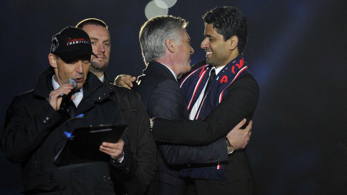 PSG : Les vérités de Carlo Ancelotti sur sa relation avec Nasser Al-Khelaïfi