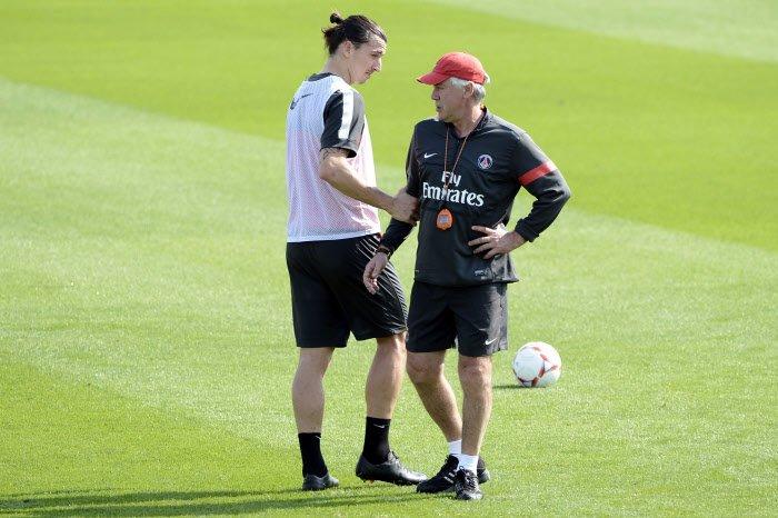 PSG : Cristiano Ronaldo, Zidane… Le message fort d'Ancelotti sur Ibrahimovic