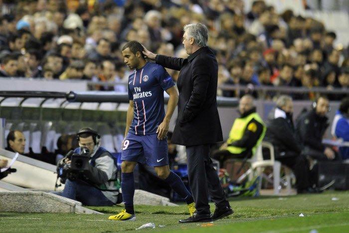 PSG : Le cas Lucas Moura décrypté par Carlo Ancelotti