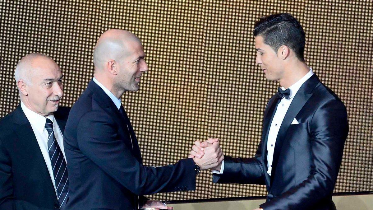 Zidane se prononce sur l'avenir de Cristiano Ronaldo