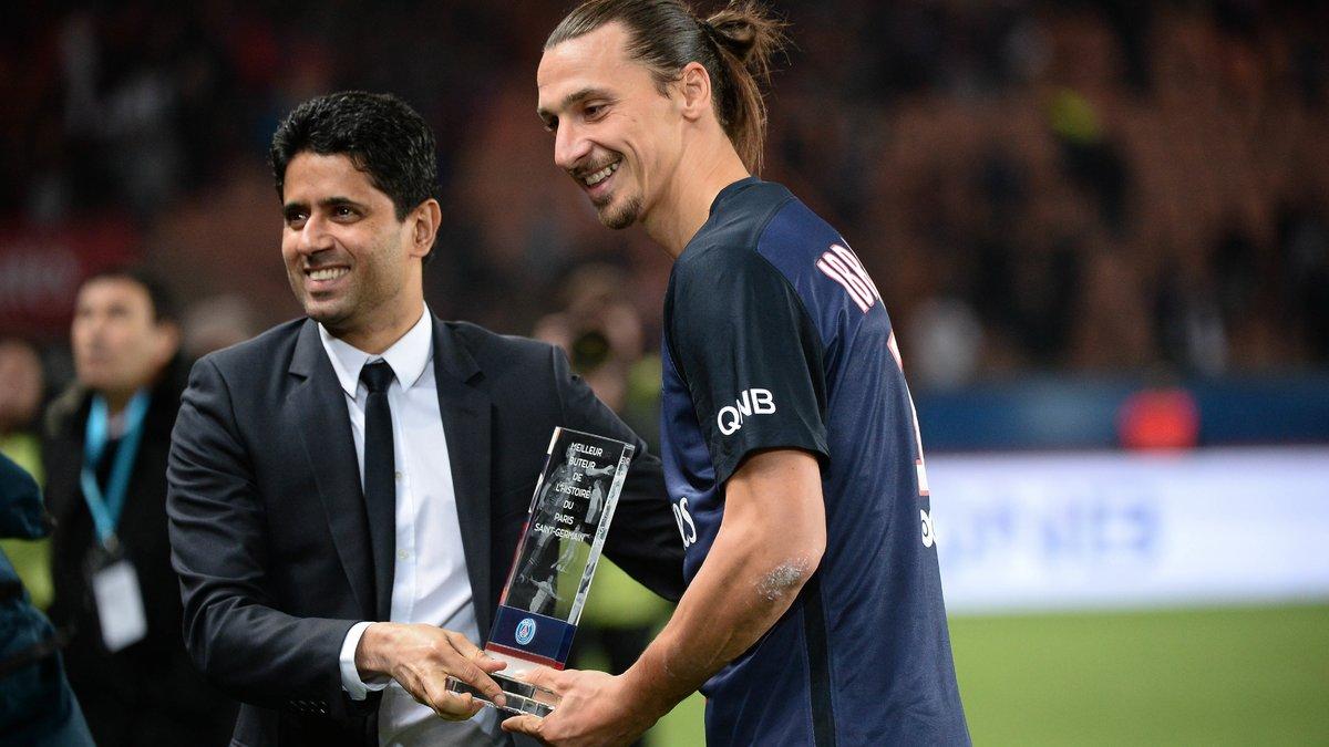 PSG : Nasser Al-Khelaïfi évoque l'avenir de Zlatan Ibrahimovic