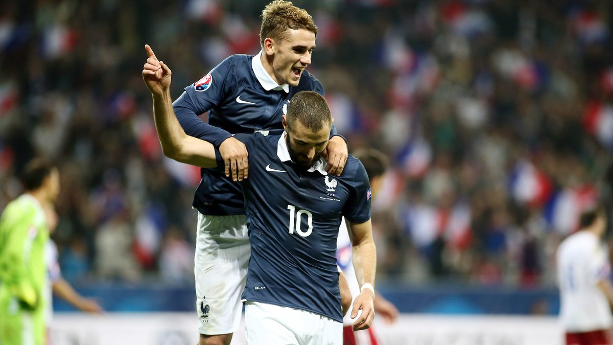 Antoine Griezmann responsable de la blessure de Karim Benzema