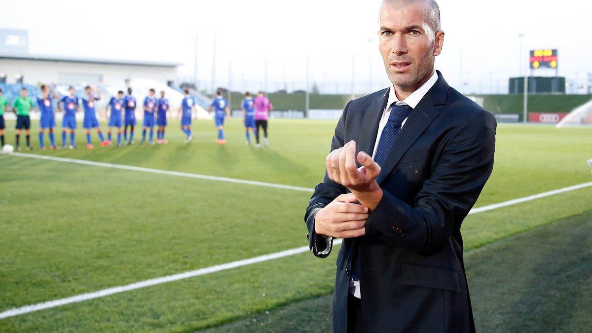 OM : Zinedine Zidane n'écarte pas la possibilité d'entraîner l'OM