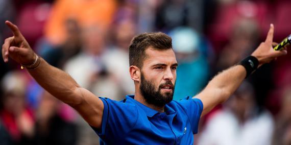 Tennis - Coupe Davis : Yannick Noah, Arnaud Cl�ment? Les v�rit�s de Benoit Paire !