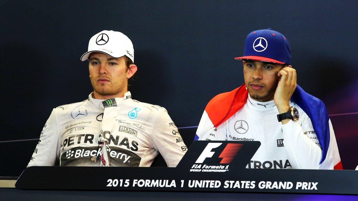 Quand un pilote s'immisce dans le malaise entre Rosberg et Hamilton