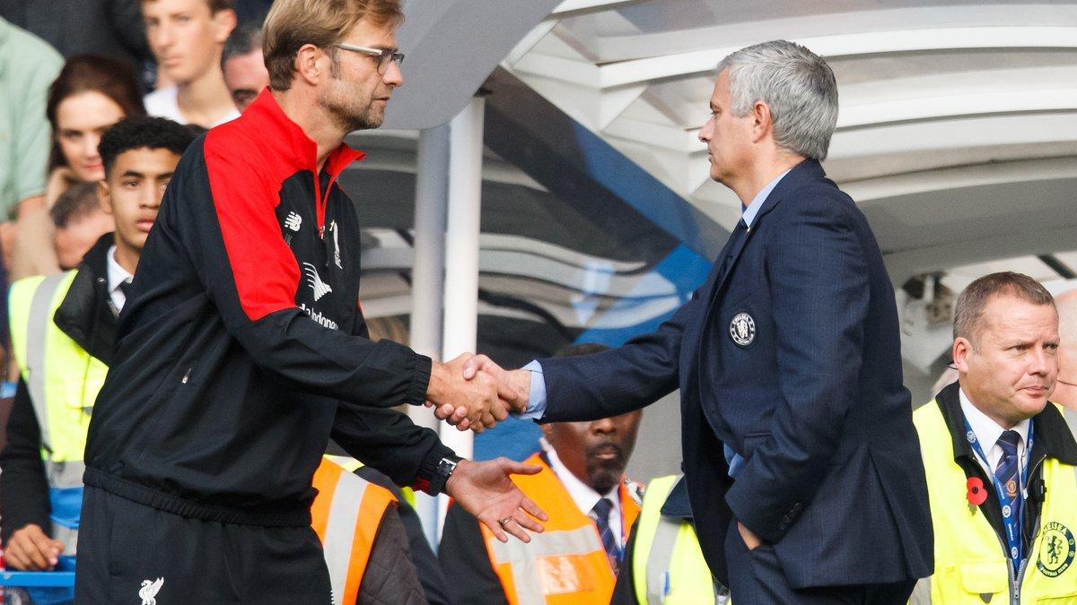 José Mourinho reçoit le soutien de… Jürgen Klopp