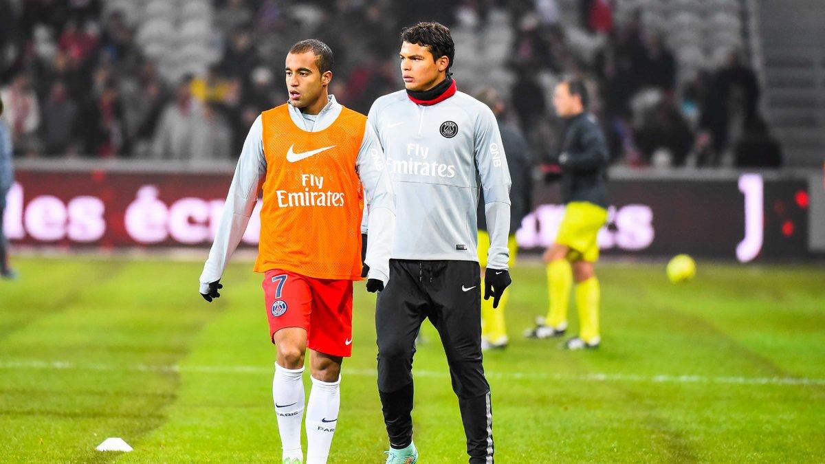 Quand Thiago Silva et Lucas chambrent Serge Aurier en pleine interview