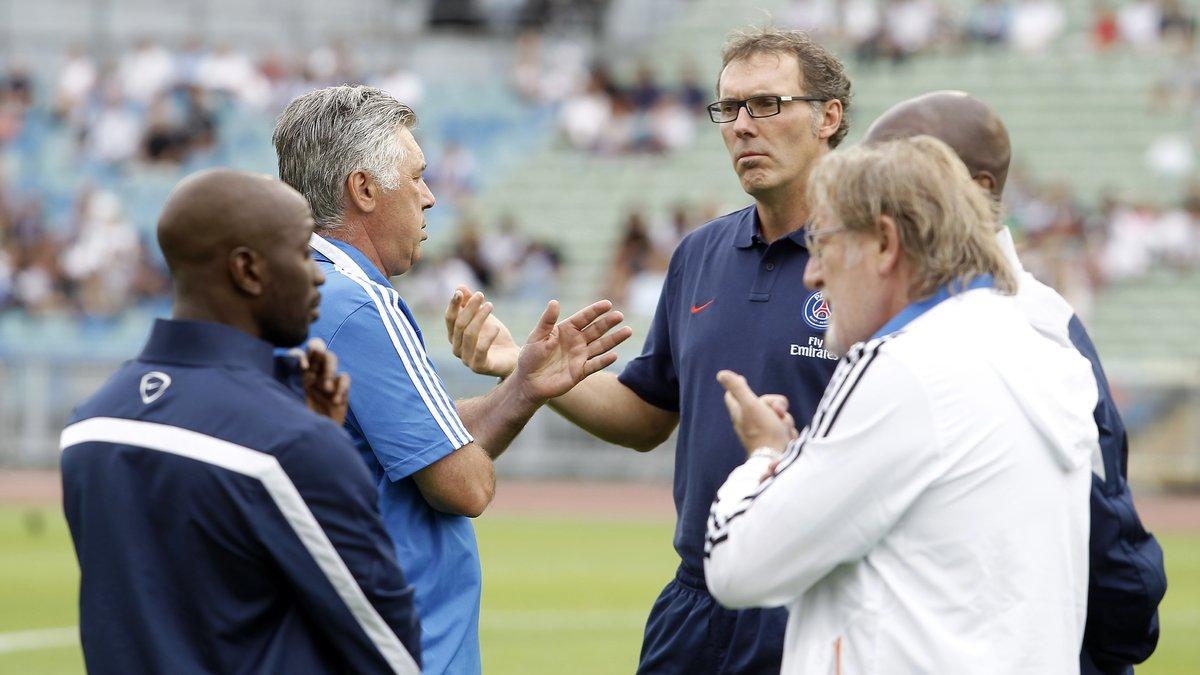 L1 - PSG : Carlo Ancelotti comprend le renvoi de Laurent Blanc