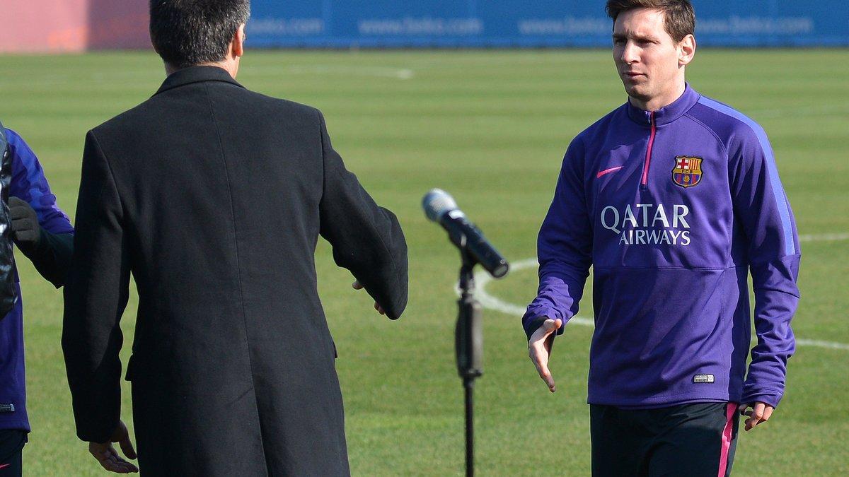 Clasico : Le Barça fait le point pour Messi