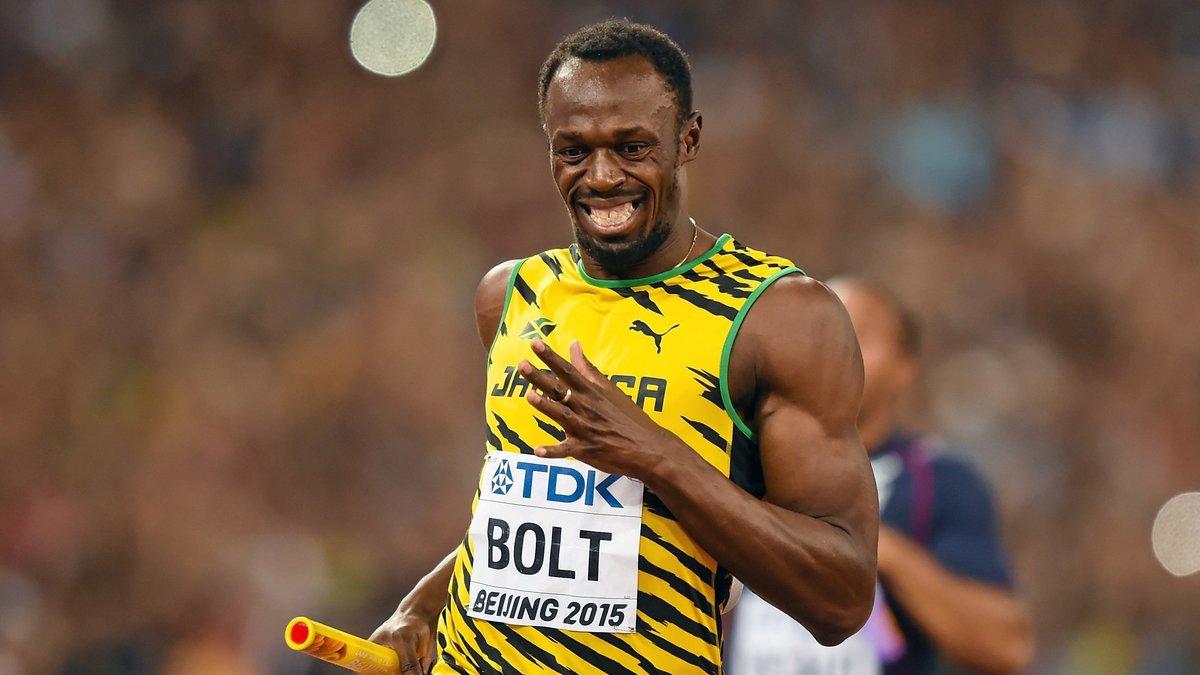 Quand Usain Bolt s'imagine à Manchester United