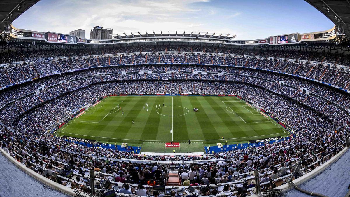 L'émouvante Marseillaise avant le Clasico à Santiago Bernabéu