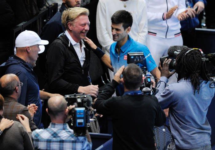 L'entraîneur de Novak Djokovic impressionné par Roger Federer