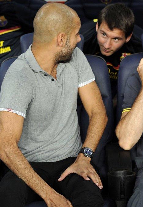 Manchester City : Quand Pellegrini est interrogé sur Messi et Guardiola