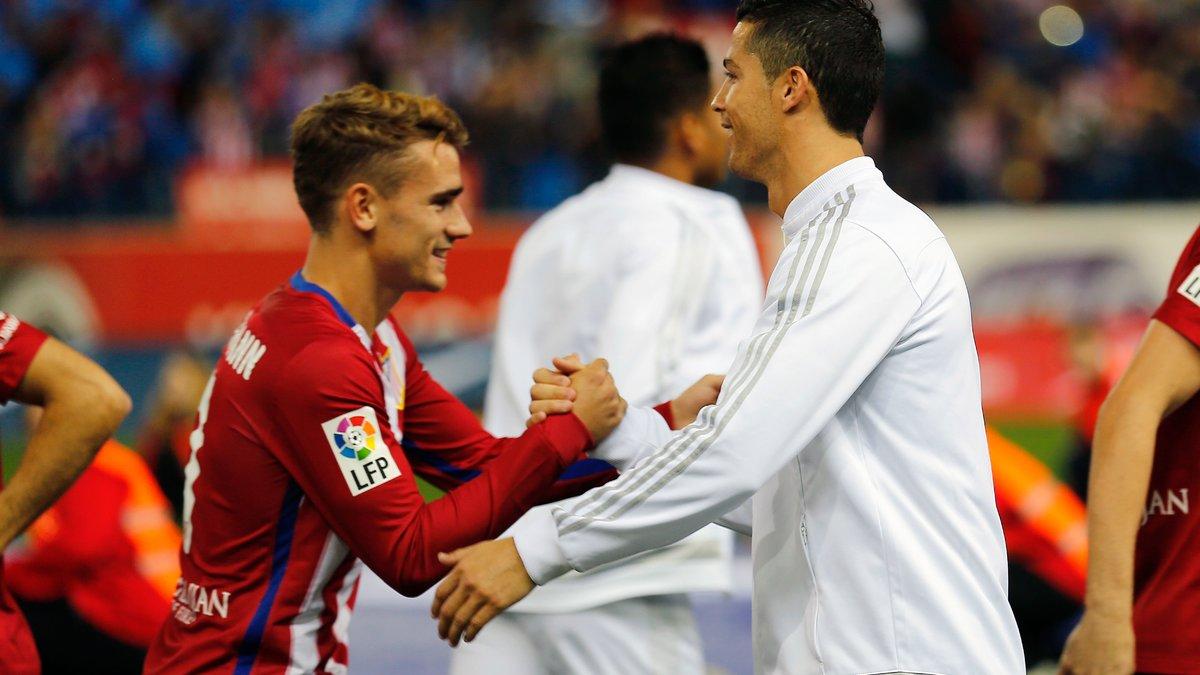 Quand Griezmann est placé à la hauteur de Messi et Cristiano Ronaldo
