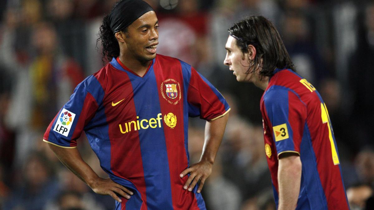 Barcelone : Quand Ronaldinho fait l