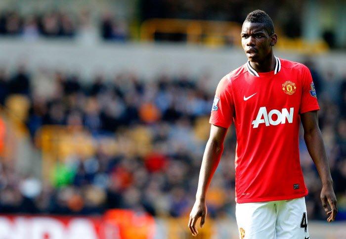 Quand Paul Pogba glisse un énorme tacle à Manchester United