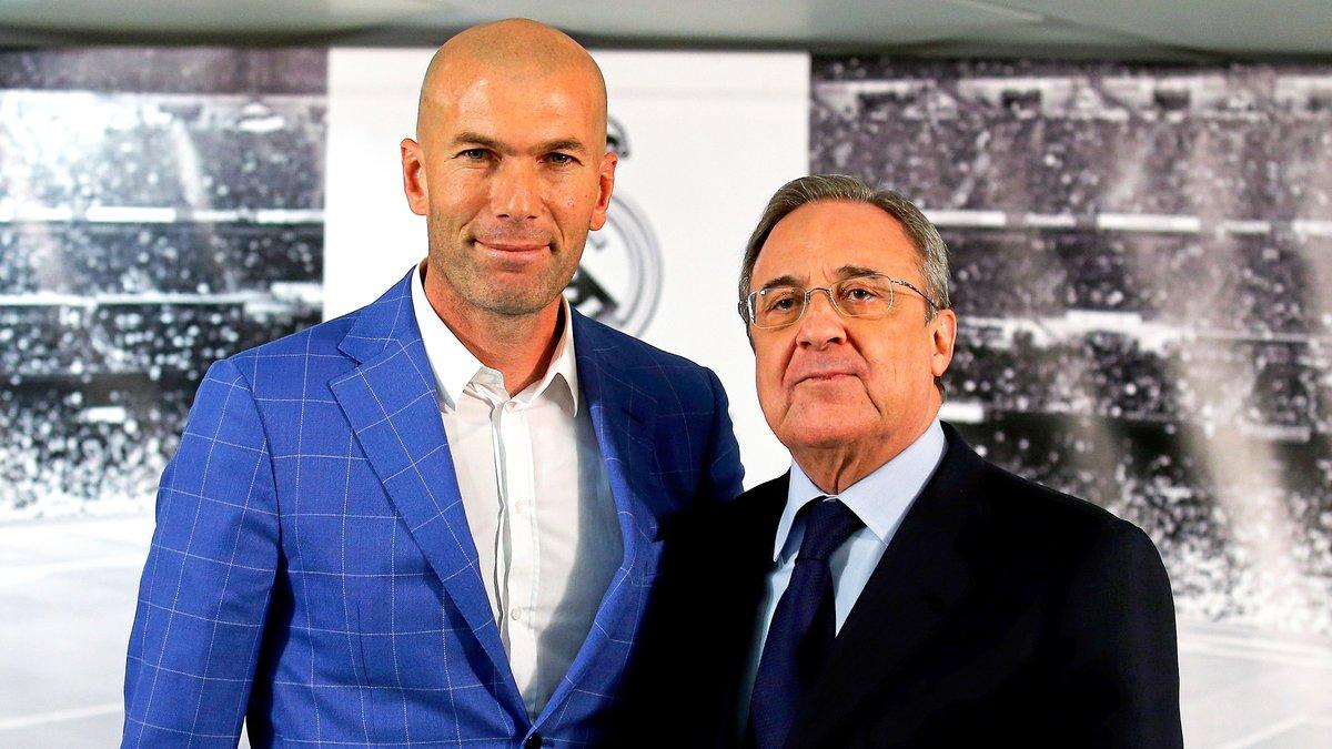Real Madrid : Réunion d'urgence entre Florentino Pérez et Zinedine Zidane