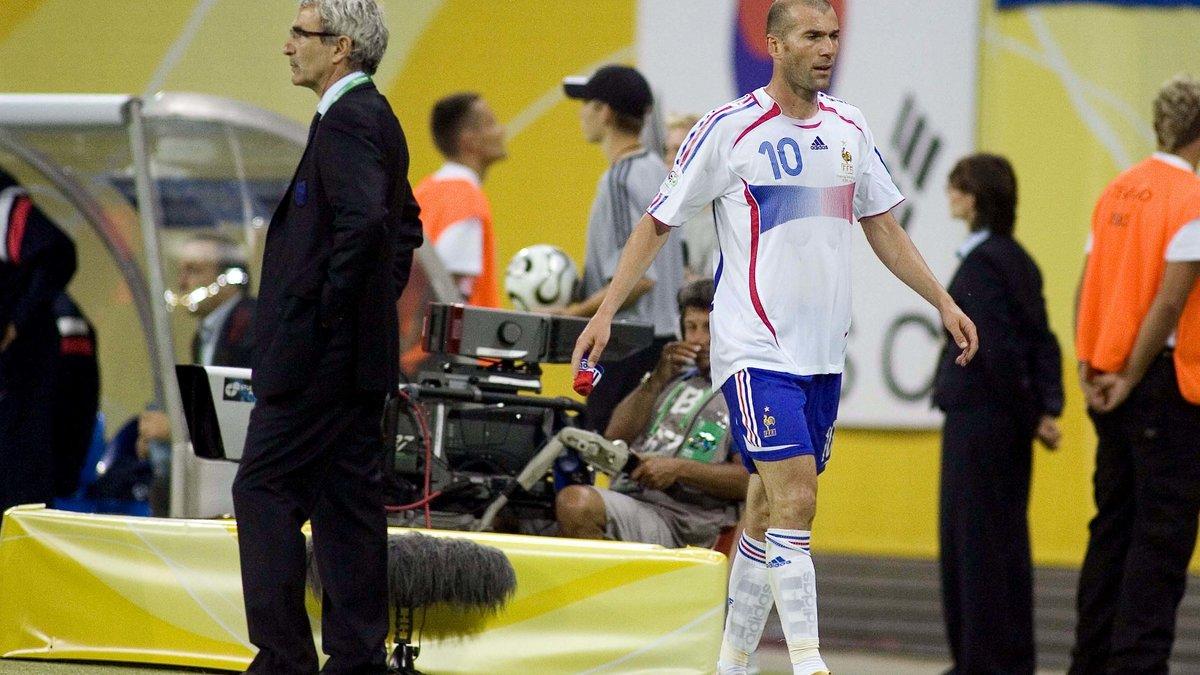 Zidane répond sans détour aux attaques de Domenech