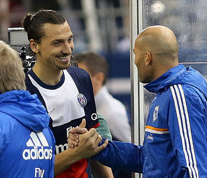 Zlatan Ibrahimovic commente la nomination de Zidane