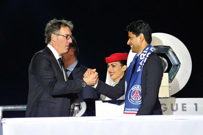 PSG : L'agent de Laurent Blanc envoie un message à Nasser Al-Khelaïfi