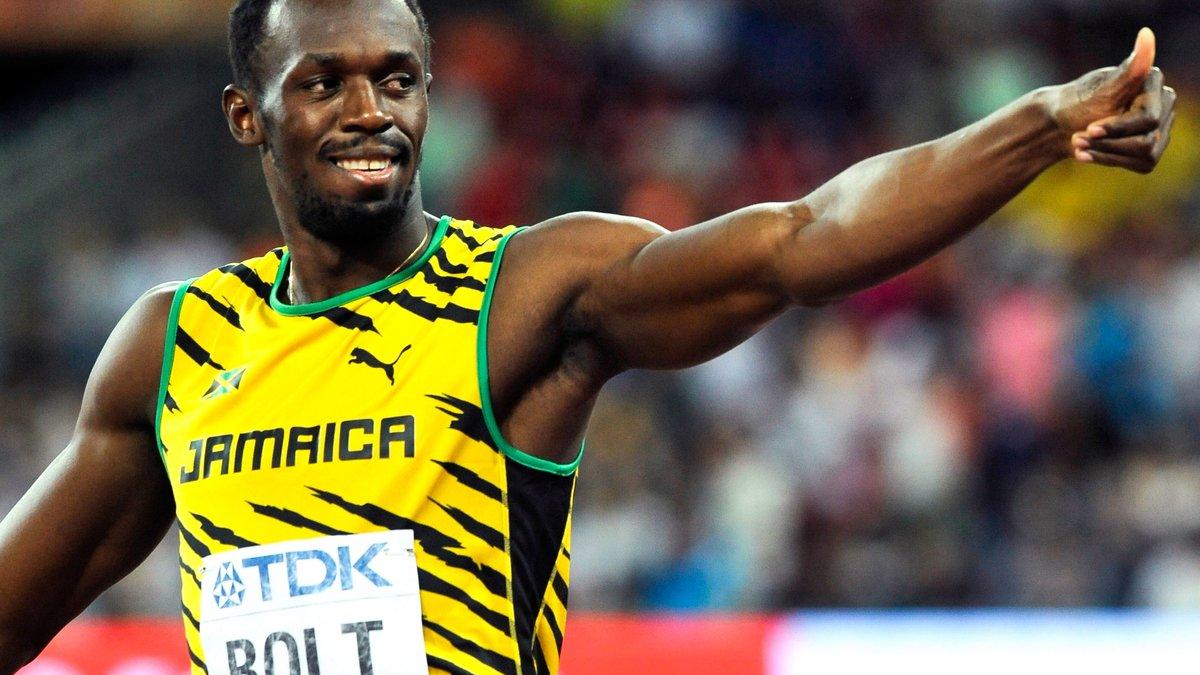 Usain Bolt affiche son rêve de jouer à Manchester United et allume Louis van Gaal