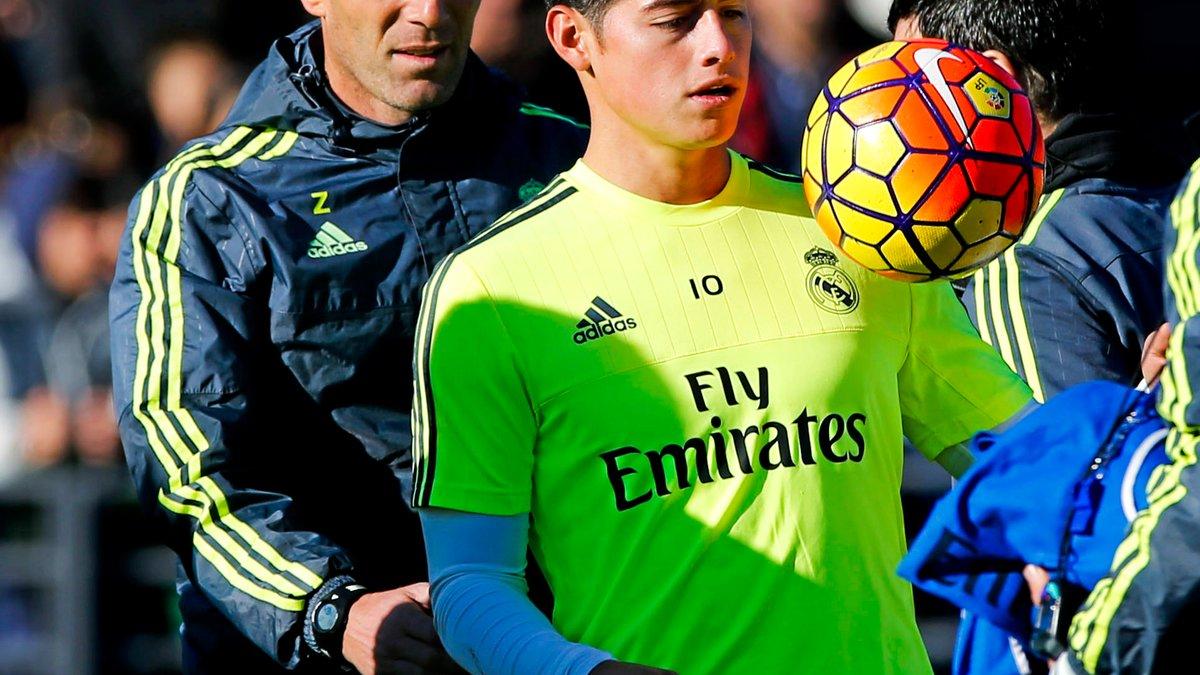 Real Madrid - Malaise : Zinedine Zidane se prononce sur la situation de James Rodriguez