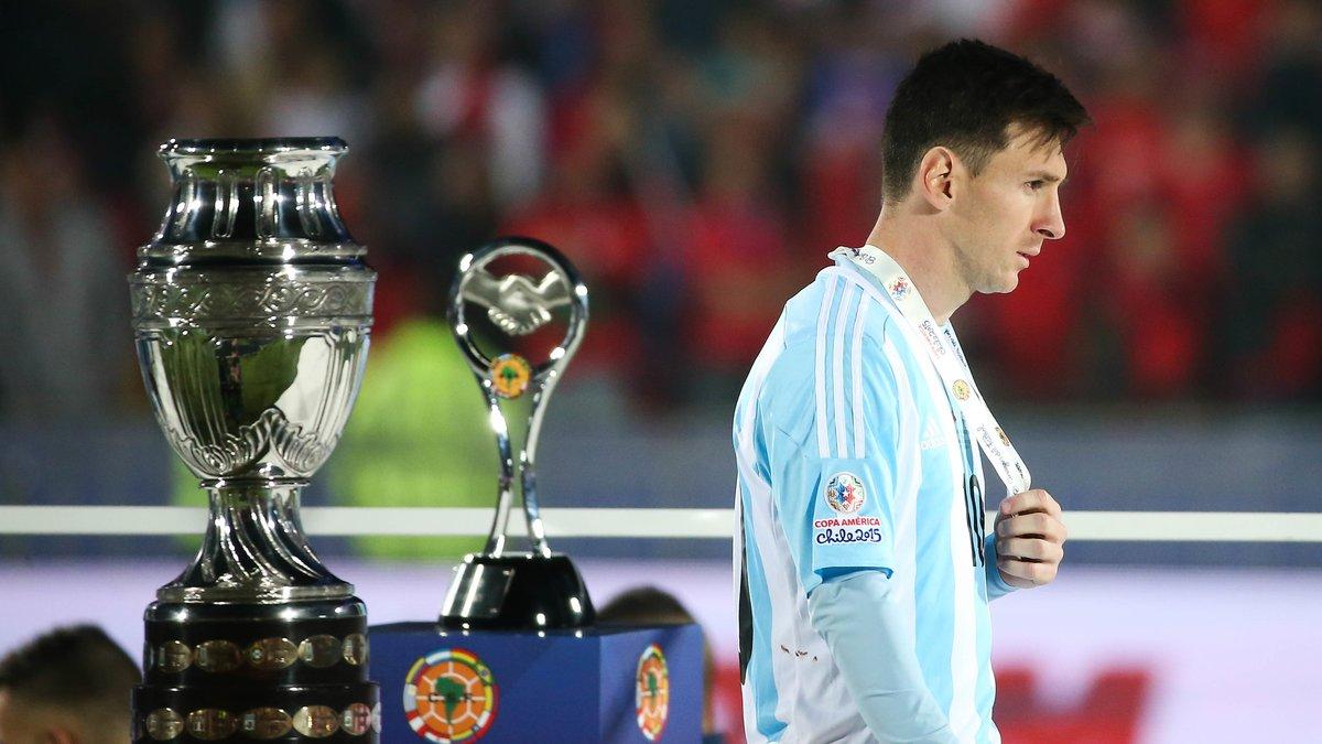 Lionel Messi évoque ses nombreux échecs avec l'Argentine