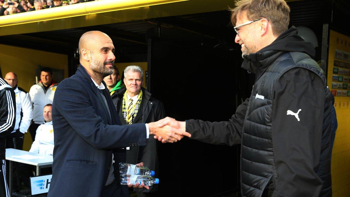 Mercato - Manchester City : Quand Jürgen Klopp se réjouit de l'arrivée de Pep Guardiola