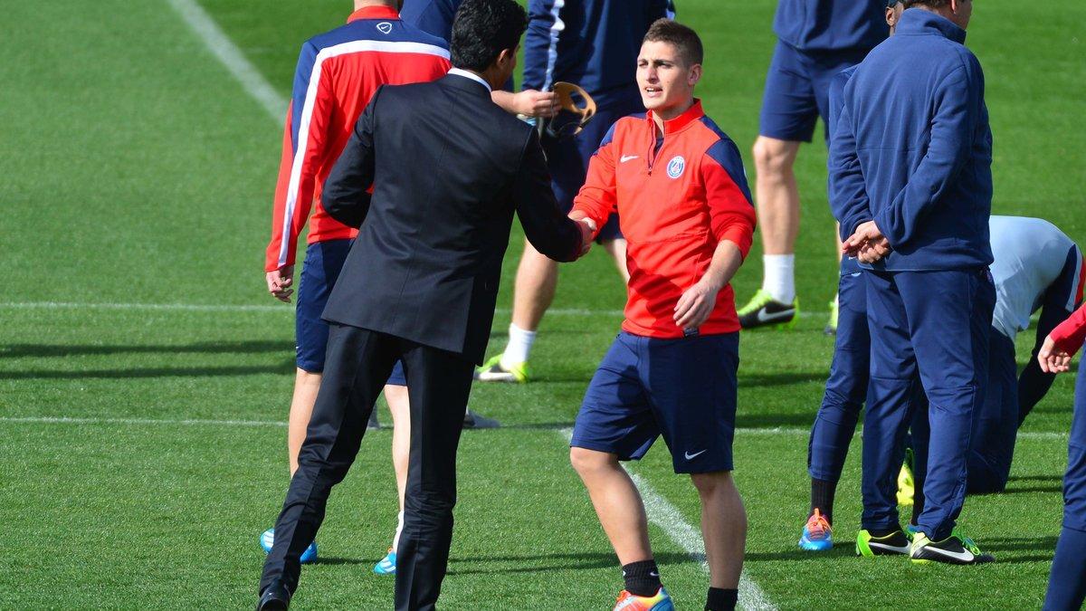 Pour rester au PSG, Verratti exige de grands joueurs