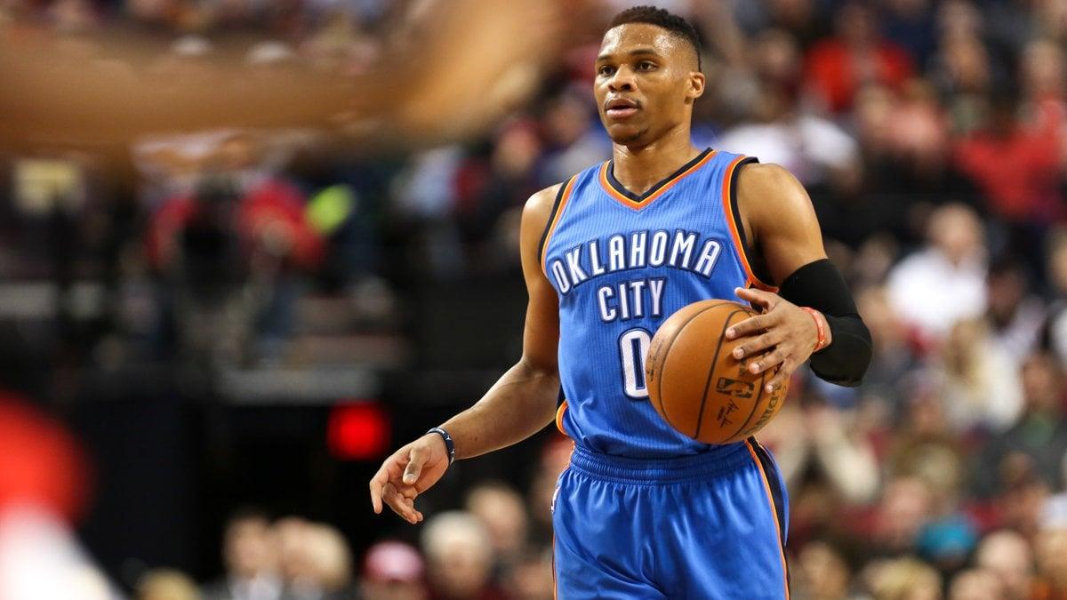 NBA: Westbrook, sur sa planète, rejoint Jordan