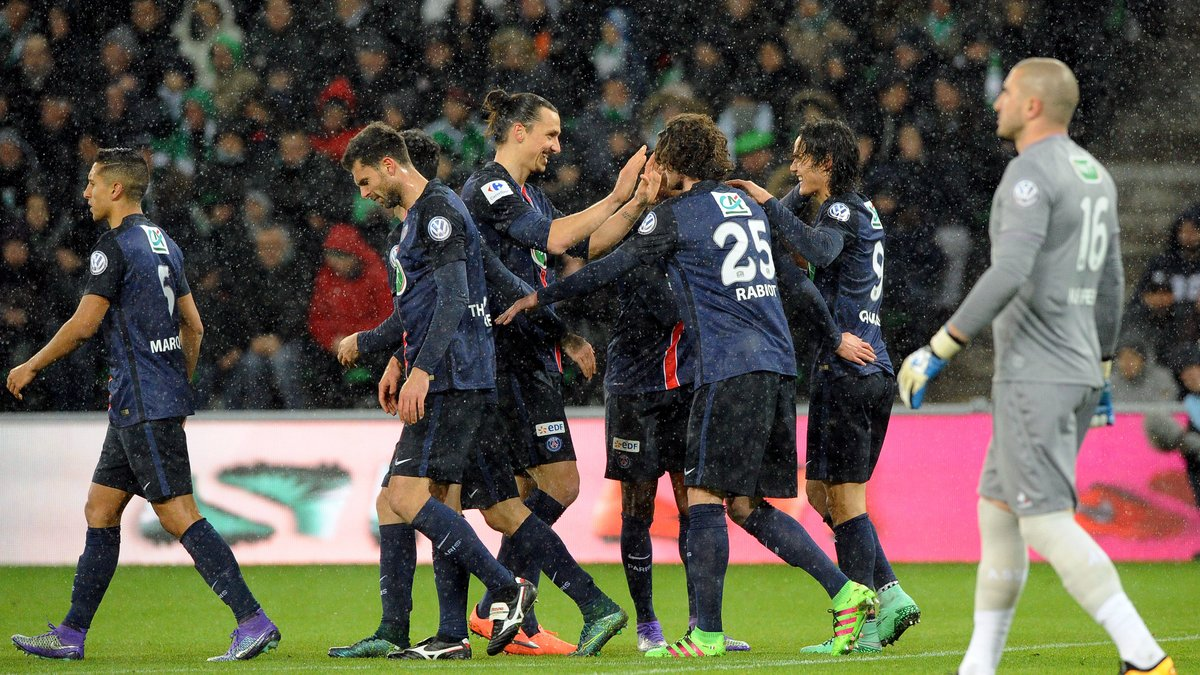 Coupe de France : Le PSG domine l