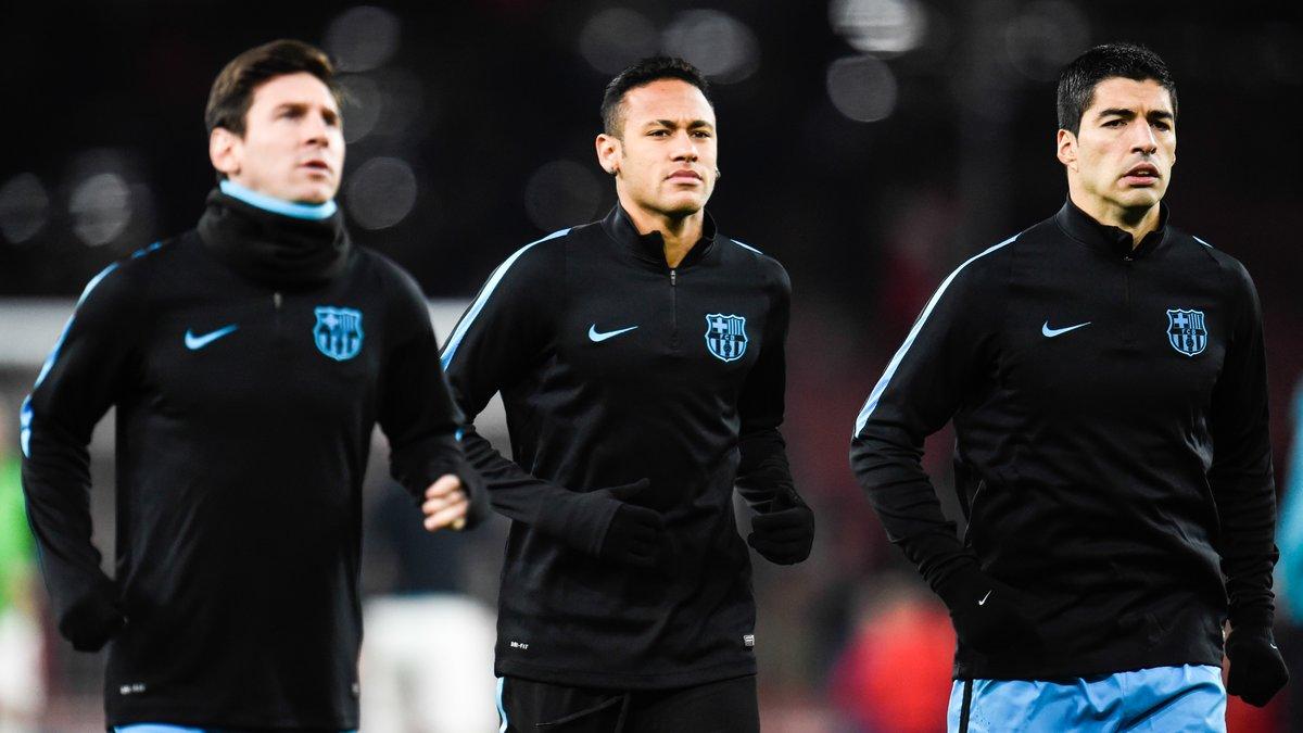 Barcelone : Neymar s'enflamme sur son association avec Lionel Messi et Luis Suarez