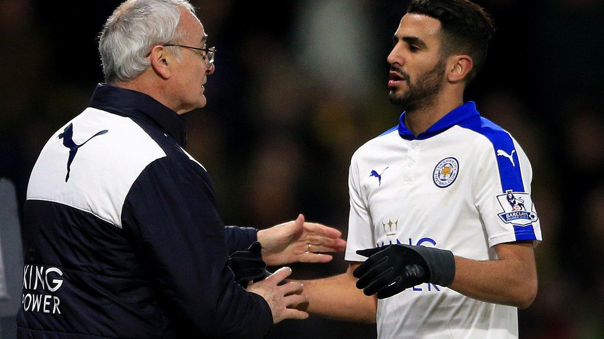 Arsenal : Le coup de gueule de Ranieri pour Riyad Mahrez