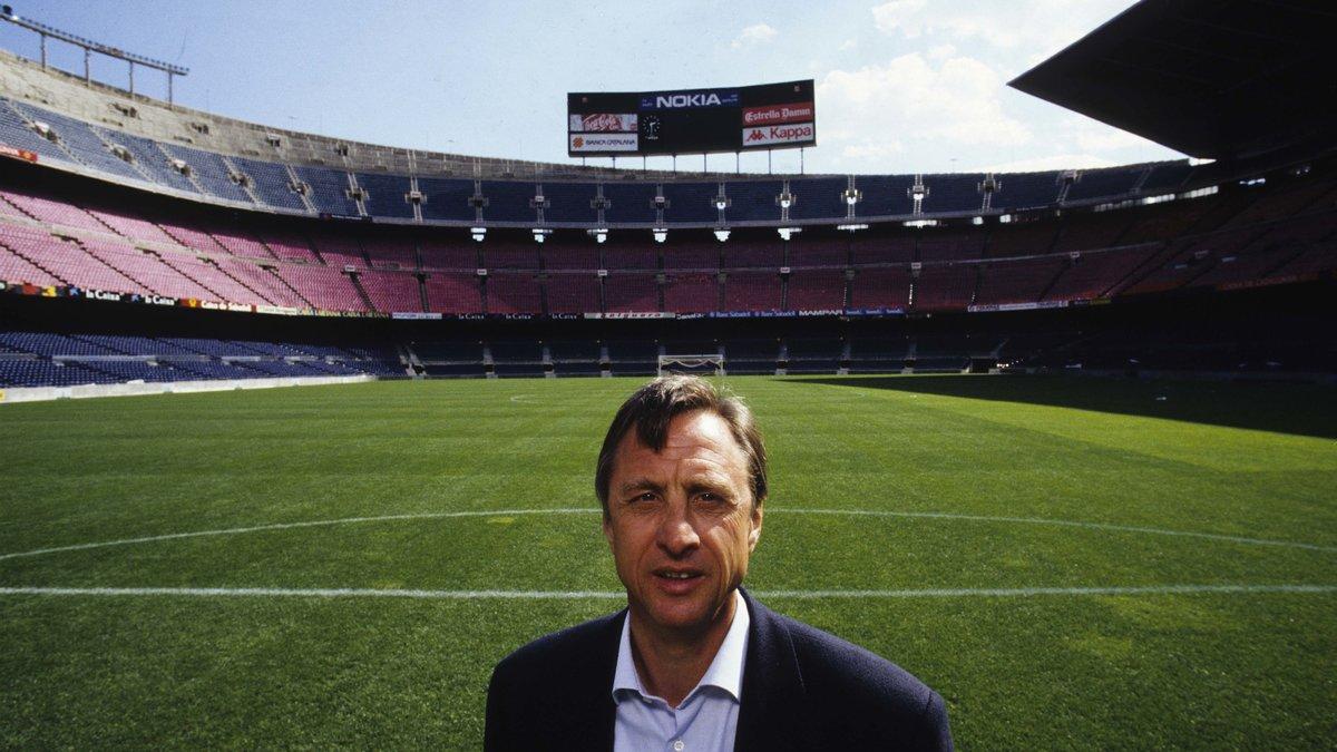 Barcelone : Quand Twitter se mobilise pour renommer le Nou Camp en hommage à Johan Cryuff