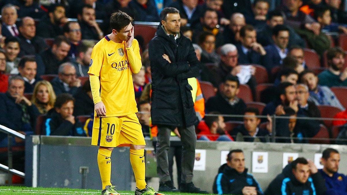 Barcelone - Clash : Un malaise en coulisses entre Messi et Luis Enrique