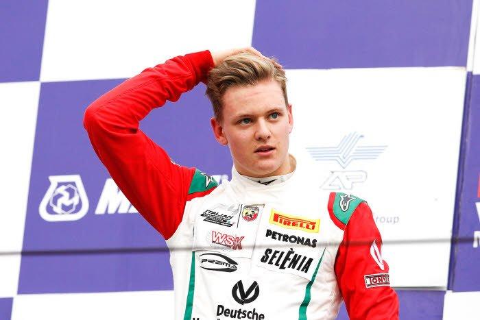 Le fils de Michael Schumacher sur les traces de son père