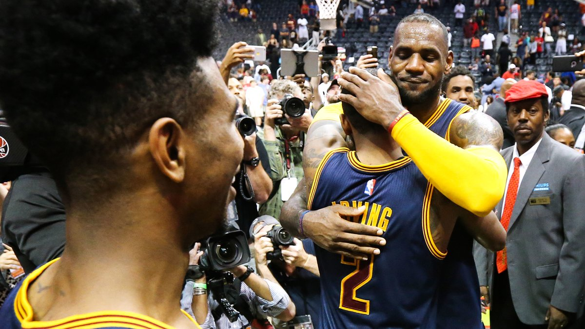 Irving Sao Paulo Cool nba | basket - nba : kyrie irving s'enflamme pour lebron james !