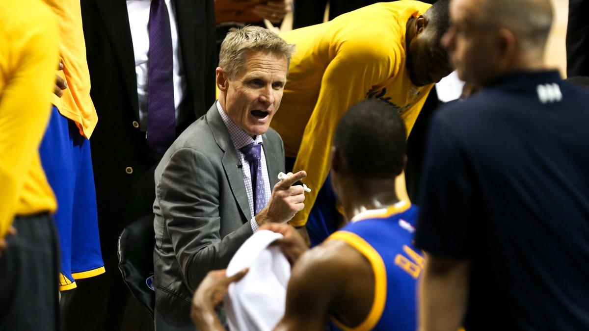 Le coach de Golden State met la pression sur Oklahoma
