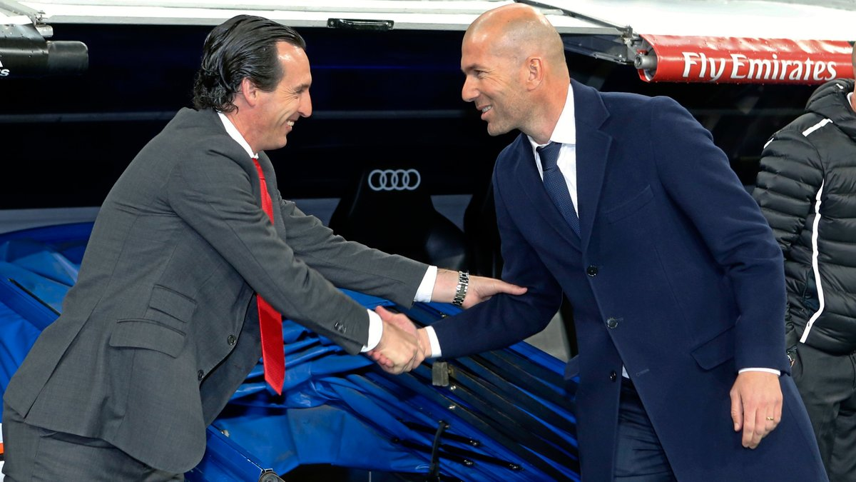 PSG : Quand Unai Emery s'enflamme pour Zinedine Zidane