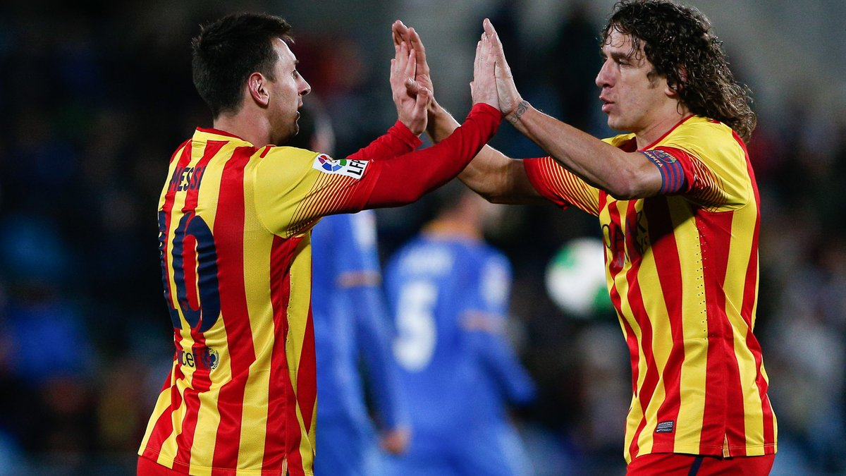Puyol s'enflamme devant Lionel Messi