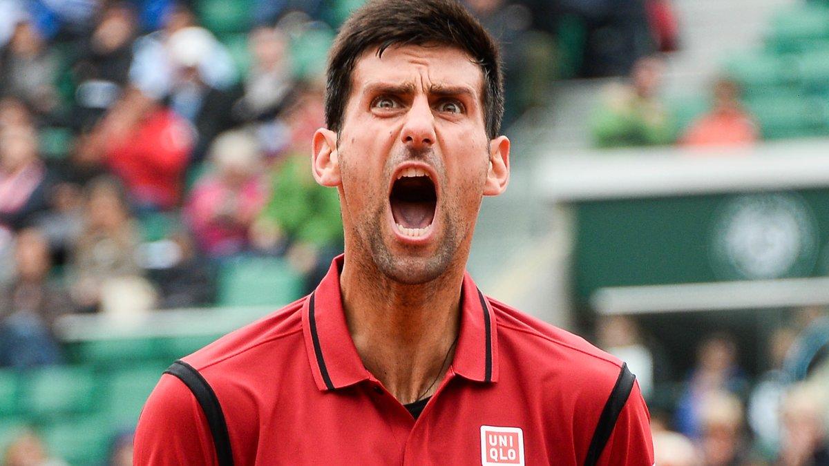 Novak Djokovic revient sur son pétage de plombs à Roland Garros