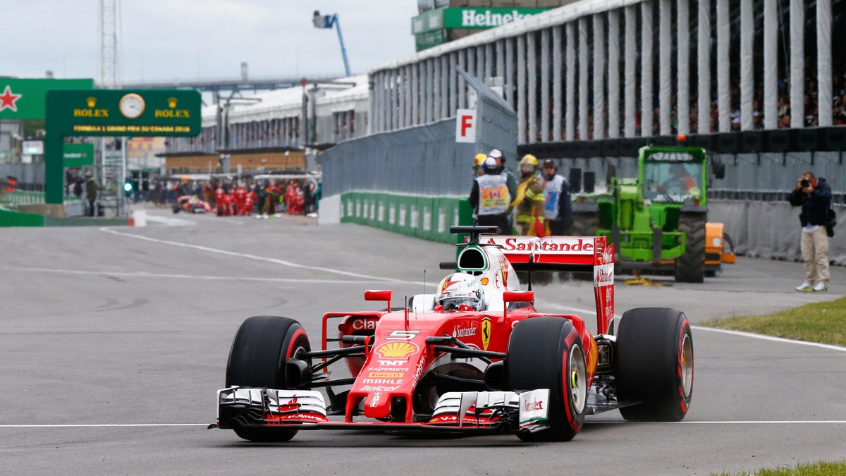 formule1 formule 1 la r action de sebastian vettel apr s sa deuxi me place au canada. Black Bedroom Furniture Sets. Home Design Ideas