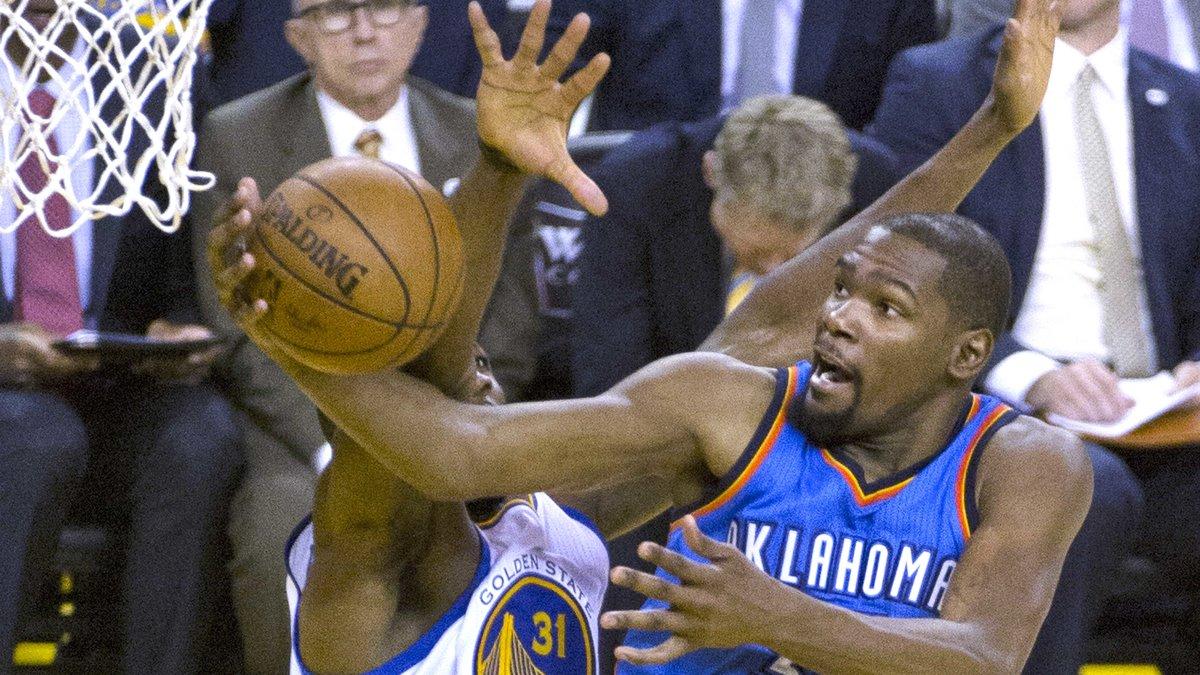 Kevin Durant rejoint les Warriors de Golden State — NBA