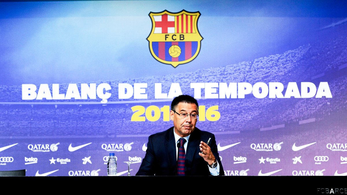 Barcelone : Josep Maria Bartomeu annonce la couleur pour le mercato du Barça