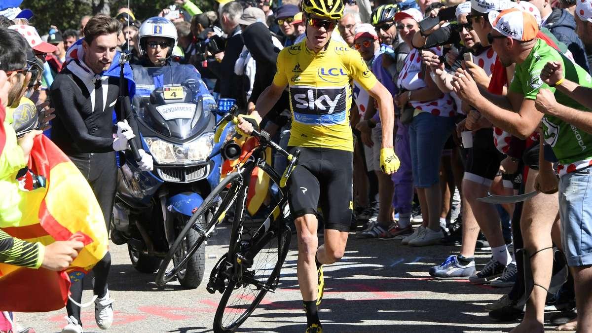 Tour de France : Ce Maillot Jaune provisoire qui vole au secours de Froome
