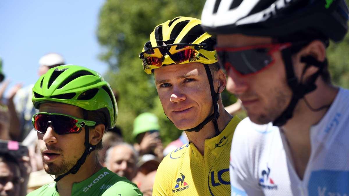 Chris Froome encense ses coéquipiers après la 15e étape du Tour de France